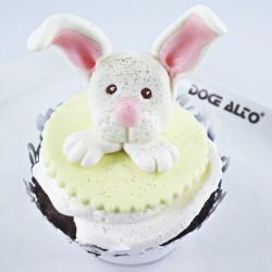 Cupcake de Páscoa - Cara...