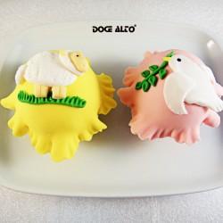Cupcake de Páscoa -...