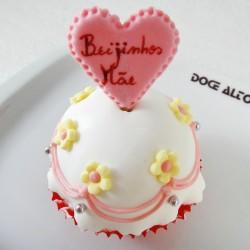 Cupcake Beijinhos Mãe (Un)