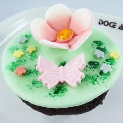 Cupcake Flores de Mãe (Un)
