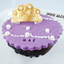 Cupcake Mãe Rainha (Un)