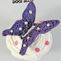 Cupcake Borboleta Roxa (Un)