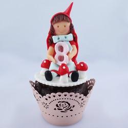 Cupcake Capuchinho Vermelho...