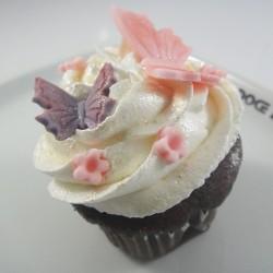 Cupcake Borboleta e Margarida