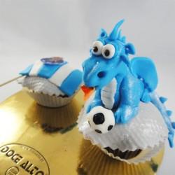Cupcake  Bandeira e Dragão...