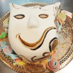 Máscara de Carnaval Radiante