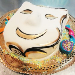 Máscara de Carnaval Contente