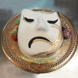 Máscara de Carnaval Chateado