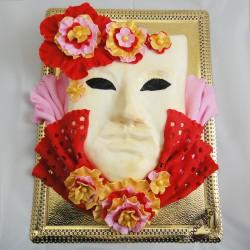 Máscara Artística de Mulher...