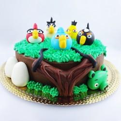 Angry Birds e Fisga (Kg)