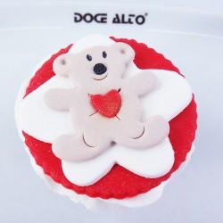 Cupcake Ursinho do Amor (Un)