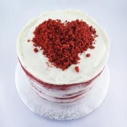 Nú com coração Red Velvet (Kg)