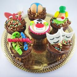 Cupcakes Sortidos de Carnaval
