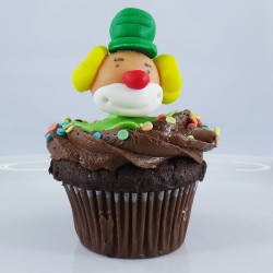 Cupcake Palhaço 3D
