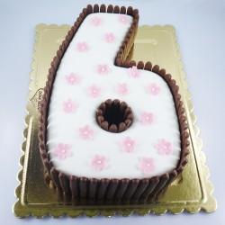 Algarismo com Chocolate (Kg)