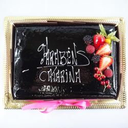 Chocolate com Lacinho Rosa