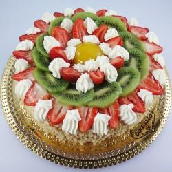 Bolo de Frutas e Chantilly...