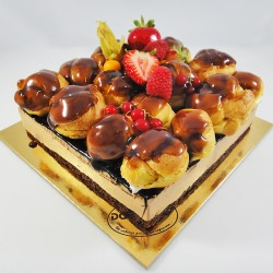 Chocolate e Profiteroles