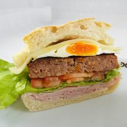Hambúrguer à Doce Alto (Un)