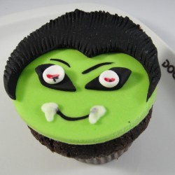 Cupcake Cara de Vampiro (Un)
