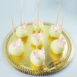 Popcakes Brancos com...