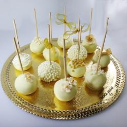 Popcakes Dourados de...