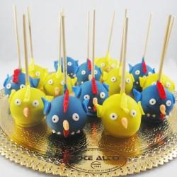 Popcakes Galinha Pintadinha...