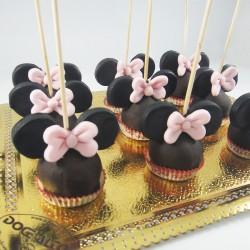 Popcakes Minnie com Laço...