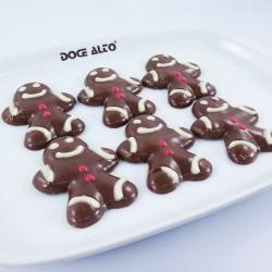 Bonequinhos de Chocolate...