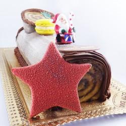 Tronco de Natal com Estrela...