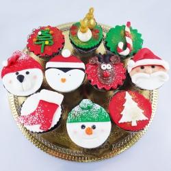 Cupcakes de Natal Sortidos...