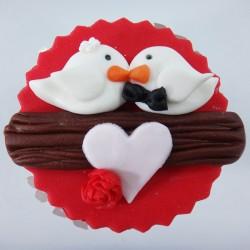 Cupcake Os Pombinhos (Un)