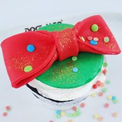Cupcake Laço de Palhaço
