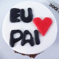 Cupcake Amo o meu Pai (Un)