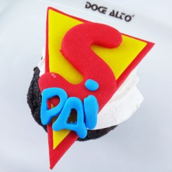 Cupcake Super-Pai (Un)
